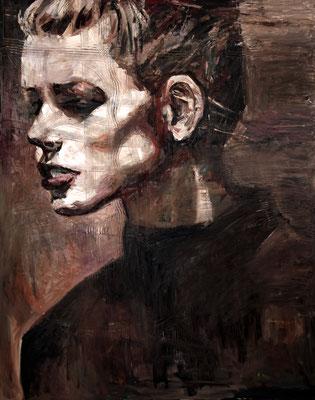 Jadore, oil on canvas, 162 x 130 cm, 2016