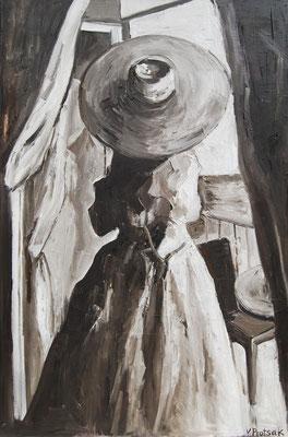 Balcony, oil on canvas 120 x 80 cm 2015