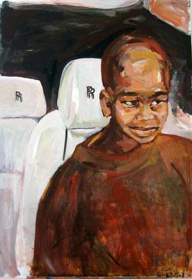 RR, acrylic on canvas, 80 x 60 cm