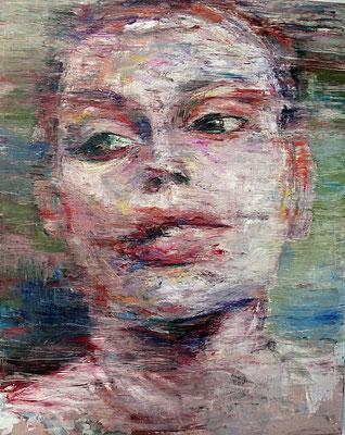 Marina, oil on canvas, 162 x 130 cm, 2015