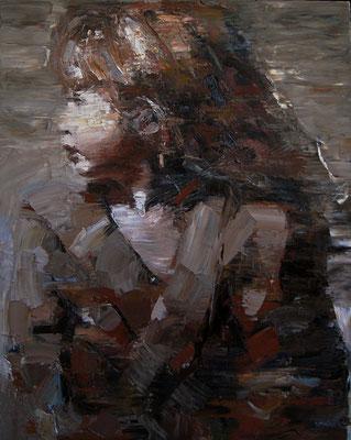 Shanna, oil on canvas, 80 x 60 cm, 2016