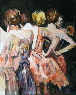 Ballet, oil on canvas, 80 x 60 cm, 2015