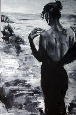 Olympia, oil on canvas, 120 x 80 cm, 2015