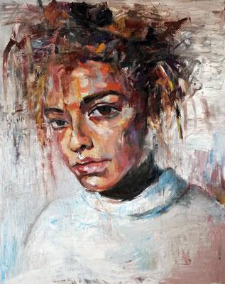 Chamomile, oil on canvas 162 x 130 cm 2015