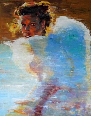 Poeme, oil on canvas 162 x 130 cm 2016