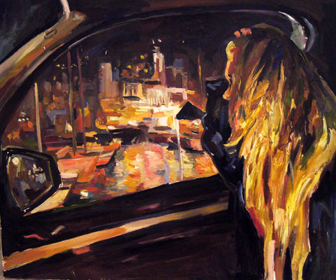 Port Hercules, oil on canvas, 120 x 100 cm, 2014