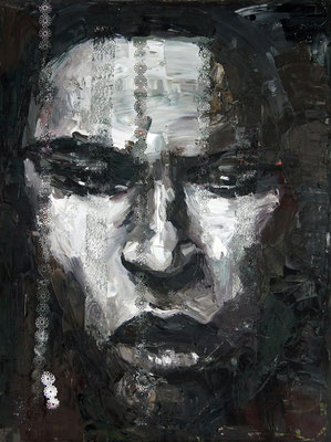Vera, oil on canvas, 80 x 60 cm, 2015