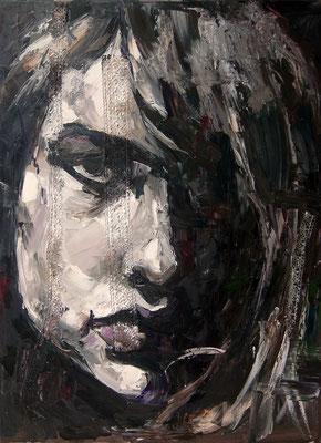 Vasilisa, oil on canvas, 80 x 60 cm, 2015