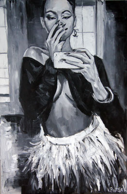 Obsession, oil on canvas, 120 x 80 cm, 2015