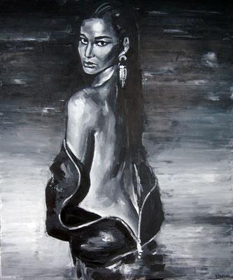 Eau, oil on canvas, 120 x 100 cm, 2015