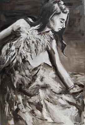 Romance, oil on canvas 120 x 80 cm 2015