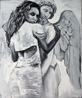 Amour, oil on canvas, 120 x 100 cm, 2015