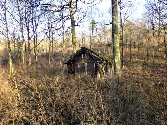 Jagdhütte verfallen