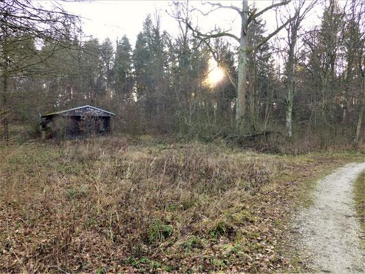 Jagdhütte in Betrieb