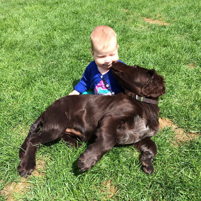 Bailey Hoffentlich ist das Kind auch entwurmt!