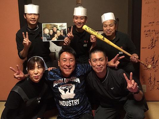 池山氏と記念撮影