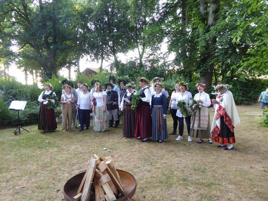 Der Chor aus Hamburg