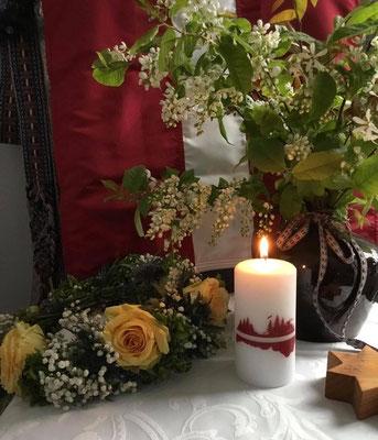Baltā galdauta svētki Riedel-Pauzers ģimenē