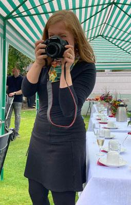 Mūsu šī pasākuma atraktīvā fotogrāfe Maruta Müller