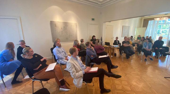 II VĀCIJAS LATVIEŠU FORUMS Latvijas vēstniecības telpās Berlīnē