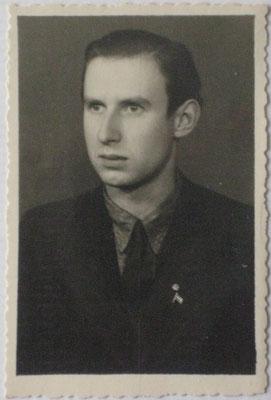 Jānis Zemītis 1946 in Deutschland