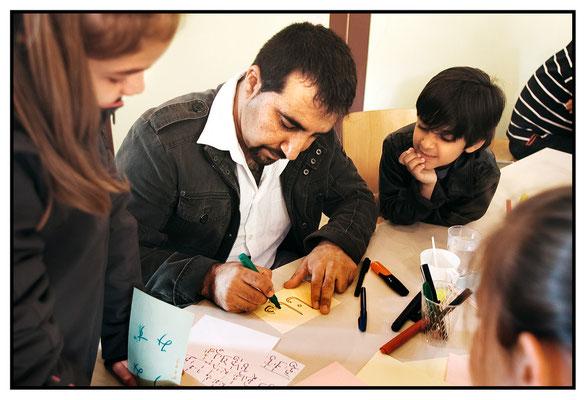 Atelier de calligraphies (Bibliomonde)