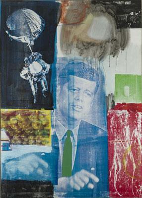 Retroactive I, 1963, huile et sérigraphie sur toile, 213x152 cm, Wadsworth Atheneum à Hartford dans le Connecticut.
