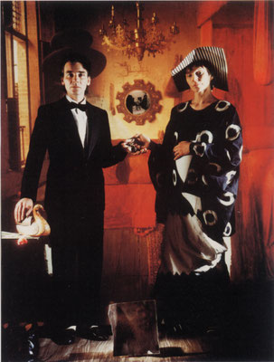 Buckland David, The Marriage of Ranolfini, 1986, cibachrome, 80x100cm.