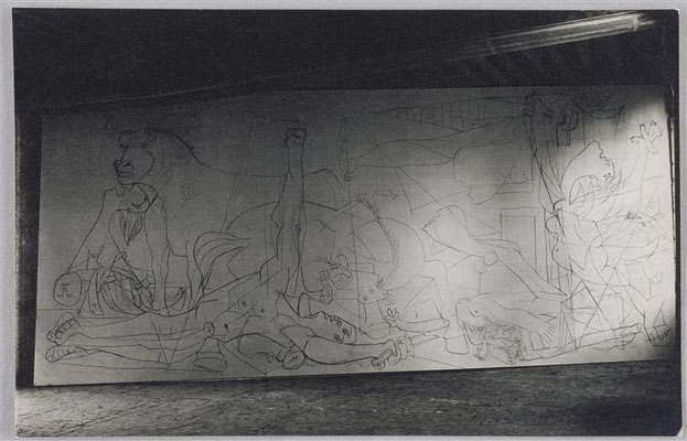 Dora Maar, Guernica, état I, 1937.