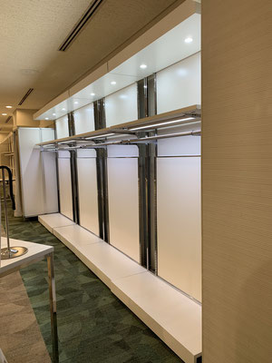 YCK001  ニッチ棚+ハンガーバーステージ ダウンライトHSパーツ付