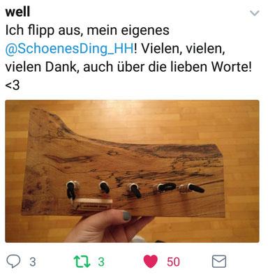 """""""schönES Ding"""" - Flaty mit Welle."""