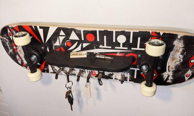 """Schlüsselboard aus Skateboard - Exklusiv von """"schönES Ding"""""""