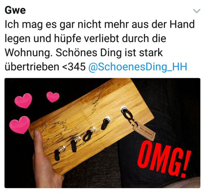 """""""schönES Ding"""" - Herzen über Herzen..."""
