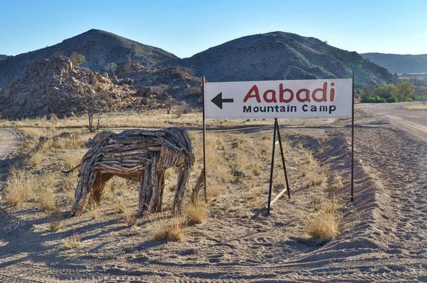 Willkommen im Aabadi Mountain Camp.