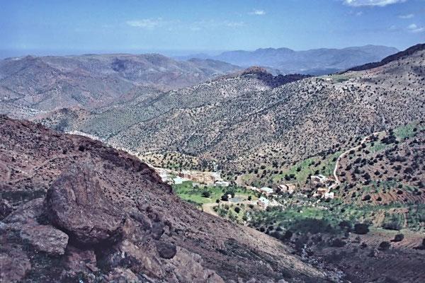 Südmarokko, so wird der Teil südlich der Städte Marrakesch und Erfoud bezeichnet.