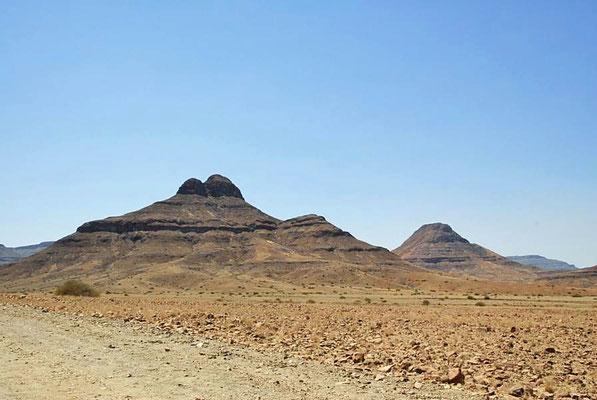 Das Damaraland ist ein dünn besiedeltes Gebiet im Nordwesten Namibias.