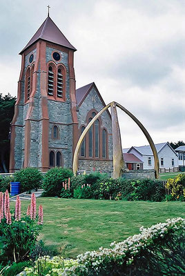Die Christchurch Cathedral in Stanley.