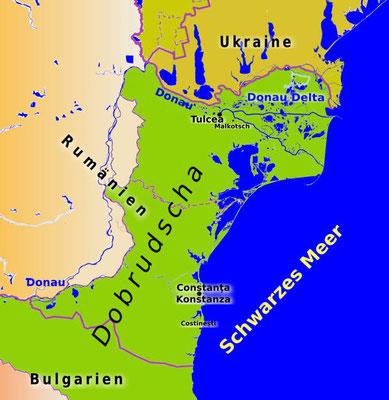 Die Dobrudscha ist eine historische Landschaft in Südosteuropa zwischen dem Unterlauf der Donau und dem Schwarzen Meer. Die Landschaft bildet das Grenzgebiet zwischen Südostrumänien und Nordostbulgarien.