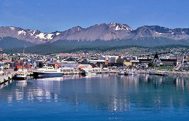 Am nächsten Morgen Ankunft in Ushuaia.