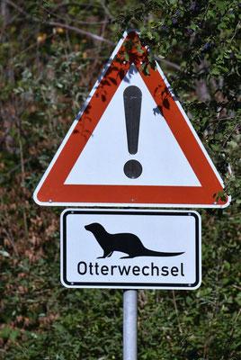 Achtung - Otterwechsel