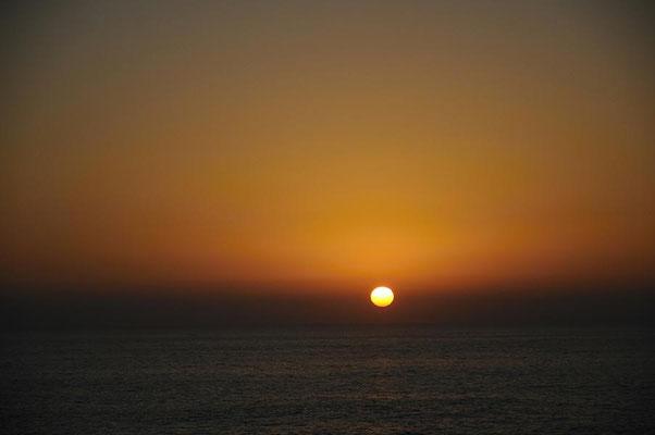 Sonnenuntergang vor Fuerteventura