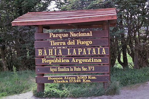 Der Nationalpark Tierra del Fuego wurde 1960 gegründet.