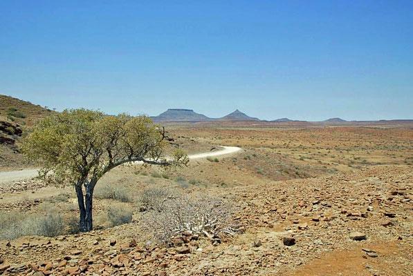 Das Damaraland ist die heute noch gängige Bezeichnung für ein auf dem Reißbrett festgelegtes Gebiet im Nordwesten von Namibia.