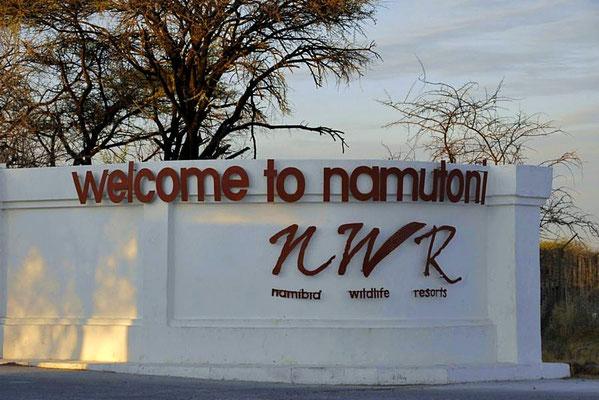 Camp Namutoni ist heute das Besucherzentrum des Nationalparks und ein Übernachtungslager für Besucher.