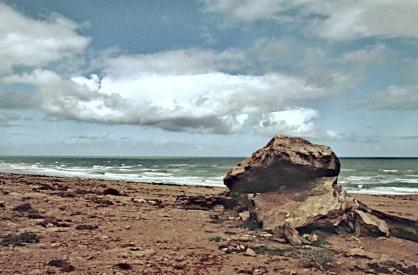 Marokko und Westsahara grenzen an den Atlantik.