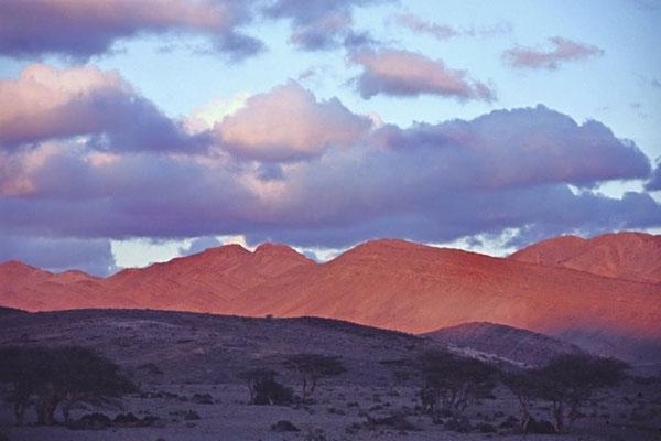 Sonnenaufgang bei Point Six