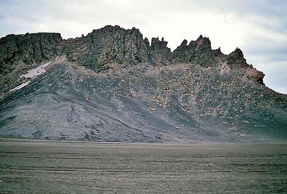 Blick auf Deception Island.