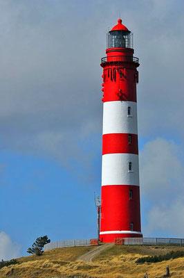 Der Amrumer Leuchtturm ist das größte Leuchtfeuer an der Deutschen Nordseeküste.