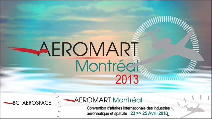 Aéromart Montréal 2013... voici quelques photos de la réalisation de notre prestation ...