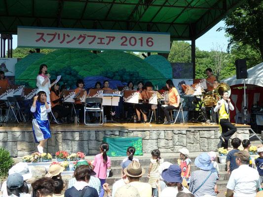 swinglily川口グリーンセンター スプリングフェア出演(2016/05/06)